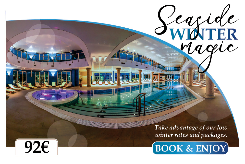 SEASIDE WINTER MAGIC IN HOTEL SPLENDID