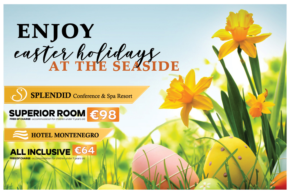 ENJOY EASTER HOLIDAYS AT THE SEASIDE