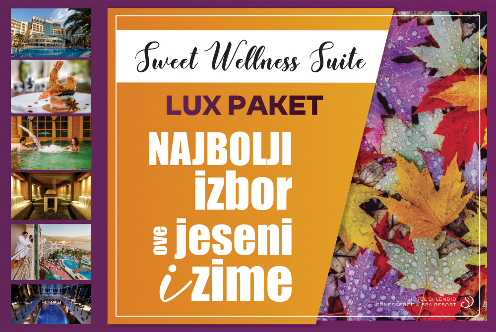 SWEET WELLNESS SUITE - LUX PAKET