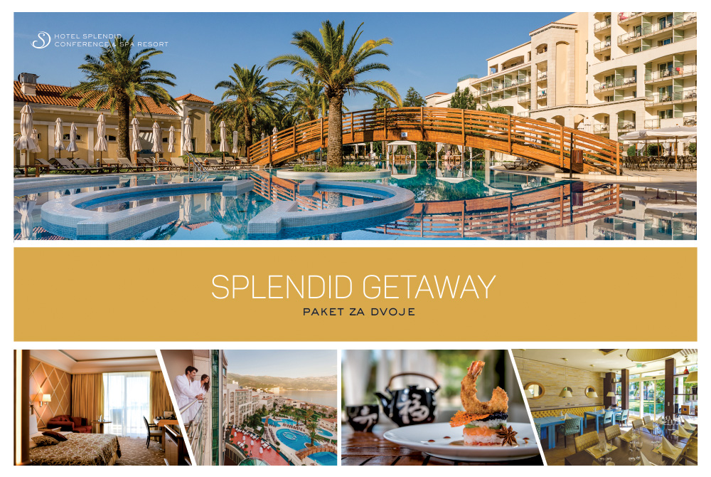 SPLENDID CONFERENCE & SPA RESORT 5* SPLENDID GETAWAY - PAKET ZA DVOJE