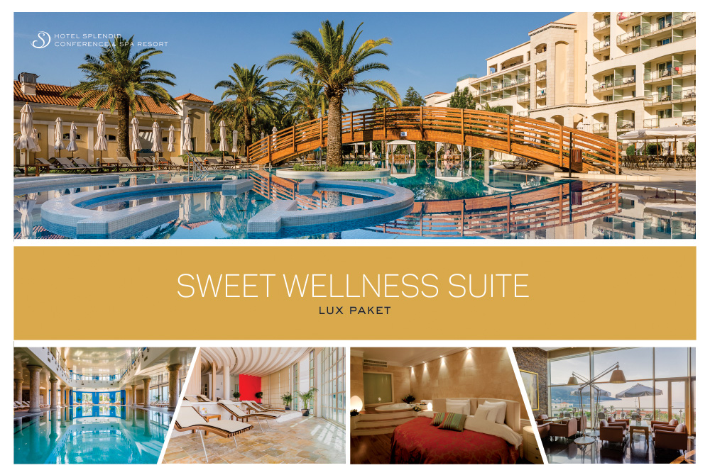 SPLENDID CONFERENCE & SPA RESORT 5* SWEET WELLNESS SUITE - LUX PAKET