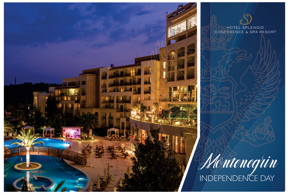 MONTENEGRO INDEPENDENCE DAY HOTEL SPLENDID 5*